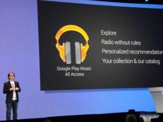Google lancia All Access, la musica in streaming per dispositivi Android