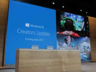 Windows 10, Creators Update: slitta l'aggiornamento