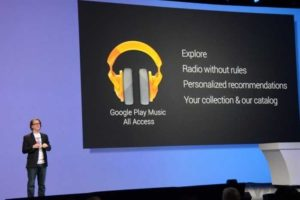 Google lancia All Access, la musica in streaming per dispositivi Android