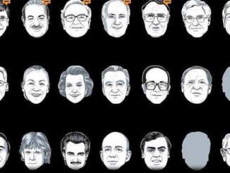 La classifica dei più ricchi del mondo nel 2013