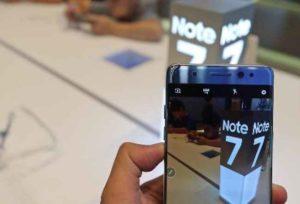 Samsung Galaxy Note 7, rischio esplosione: disposto il richiamo di un altro milione