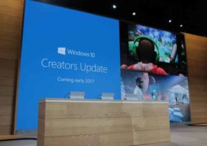 Windows 10 Creators Update: slitta l'aggiornamento